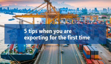 5 Tips when you are exporting for the first time